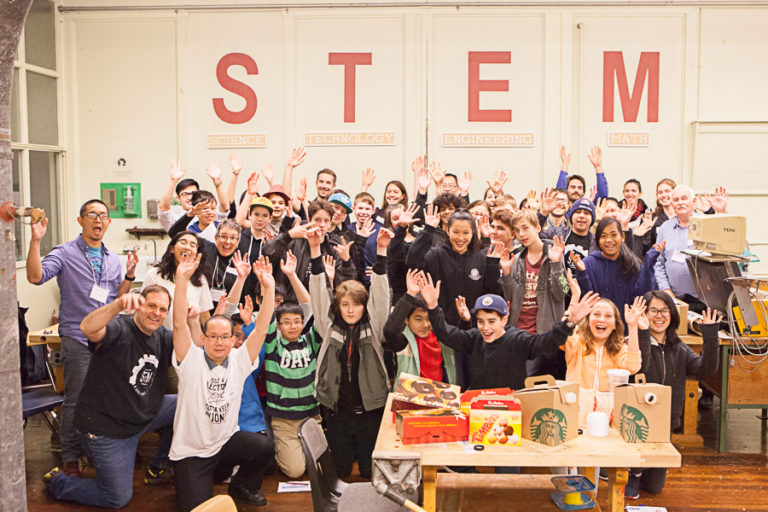OSN STEM Mentoring Cafe at Templeton Secondary School
